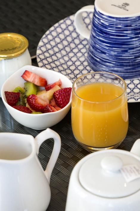 L'Albitru Bonifacio, le petit déjeuner