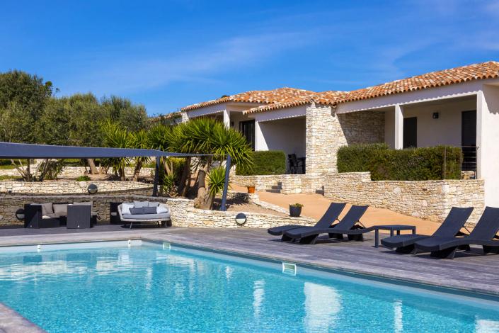 L'Albitru Bonifacio, la piscine